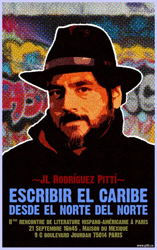 JL Rodríguez Pittí en el IIème Rencontre de Literature Hispano-Americaine à Paris